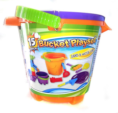 Bucket Playset -15 piece
