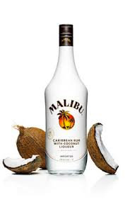 Malibu Caribbean Rum with Coconut - 750ml