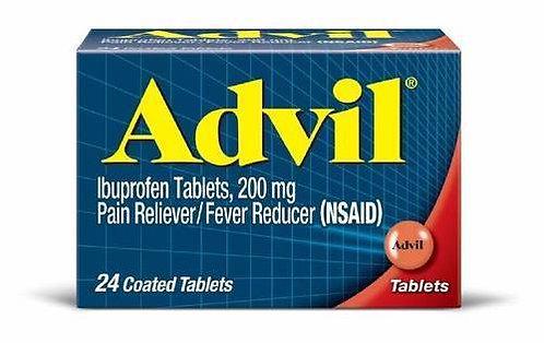 Advil - Ibuprofen 200mg - 24 tablets