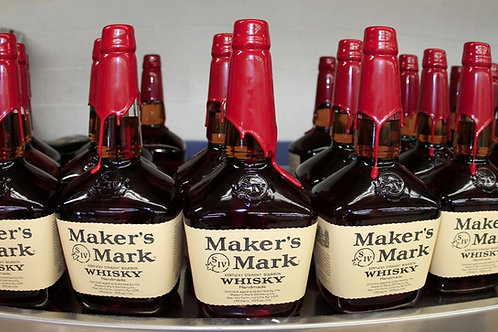 Maker's Mark Bourbon Whiskey -750ml