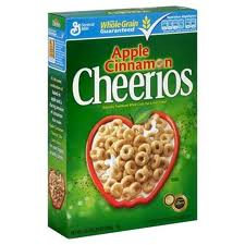 Cheerios Apple Cinnamon  470gr
