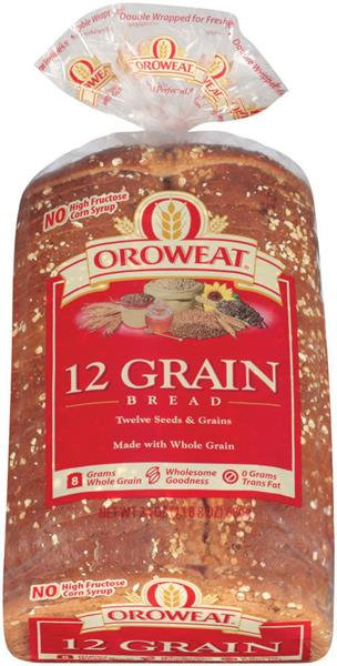 Oroweat 12 Grain Bread
