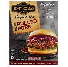 Tony Roma's BBQ Pulled Pork - 2lbs