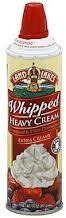 Land O Lakes Whipped Cream