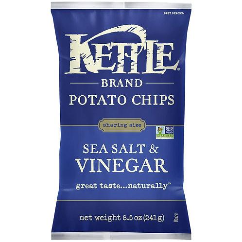 Kettle Sea Salt & Vinegar Potato Chips - Lg Bag