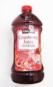 Cranberry Juice - 3qt