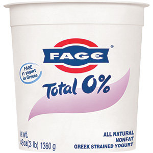 Fage Greek Yogurt Nonfat Natural-48oz