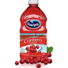 Ocean Spray Cranberry Juice - 1/2gal