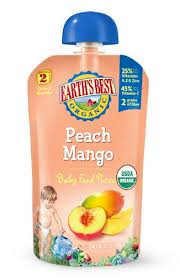 Earth's Best Organic Baby Food Pouches 9mo+ P/M