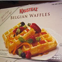Krusteaz Belgian Waffles -24