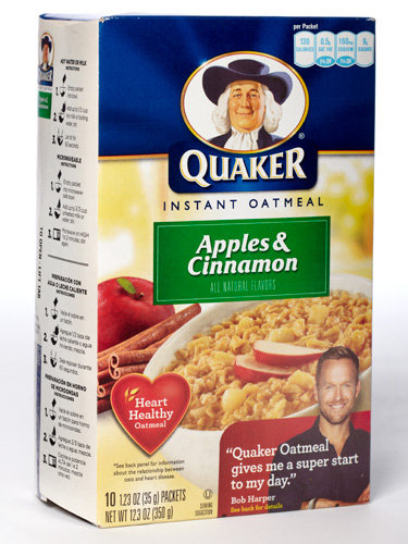 Quaker Instant Oatmeal-Apple Cinnamon-10pk