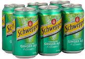 Schweppes Ginger Ale- 6pack