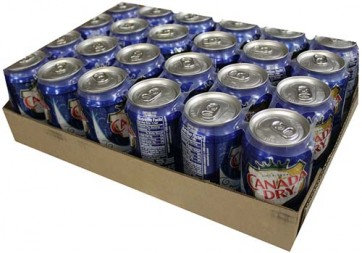 Canada Dry Club Soda - Case of 24
