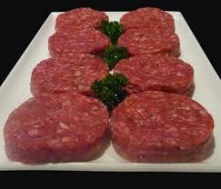 Ground Beef Patties USDA Prime Fresh - 8/3lbs