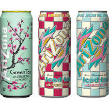 Arizona Iced Teas- case of 24