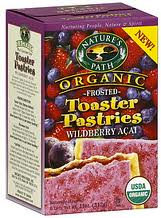Nature's Path Organic Toaster Pastries-wild berry