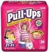 Pull-Ups Girls  2-3yr  30ct