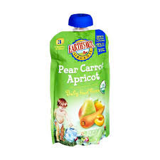 Earth's Best Organic Baby Food Pouches 9mo+ P/C/A