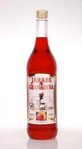 Madrilena Natural Syrup Grenadine  1L