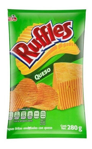 Cheese Ruffles -med bag/200g