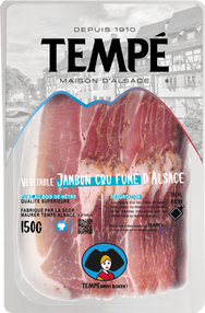 Véritable Jambon Cru Fumé d'Alsace