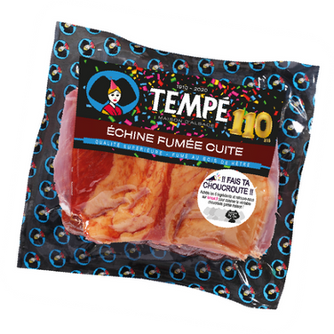 Echine fumée cuite Tempé