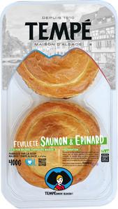 Feuilleté Saumon & Epinard