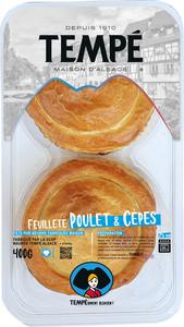 Feuilleté Poulet & Cèpes