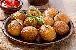Pommes de terre au four romarin