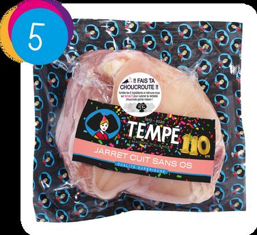 Jarret cuit sans os Tempé