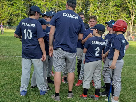 Andover Youth Baseball Team Does Not Make Headlines,  or Did They Just Now?