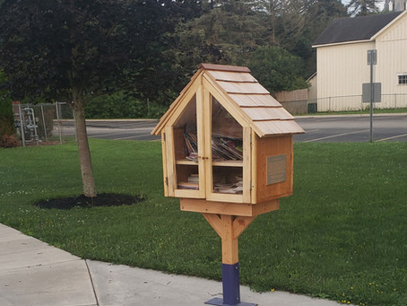 Andover Little Free Library Now Open