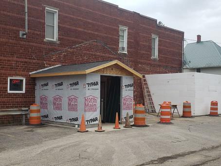 Main Street Buildings get Upgrades