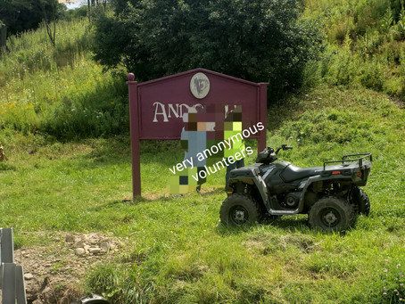 Andover Welcome Signs Getting Facelift