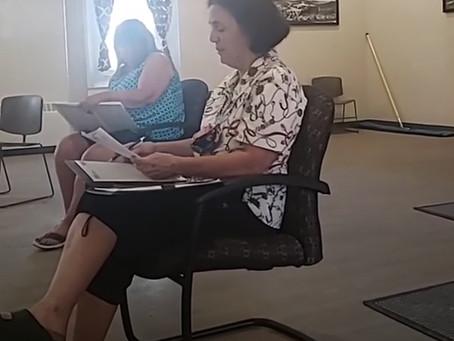 Village Public Hearing on CDBG Grant