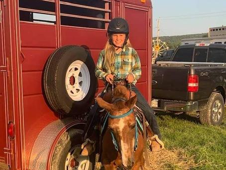 Andover Girl Wins Big at Rodeo