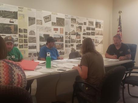 Village Board Meeting Double Header