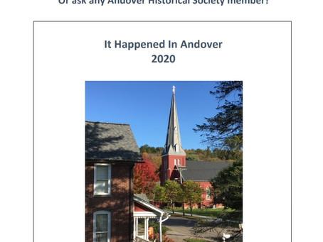 2020 'It Happened in Andover' Book Launch