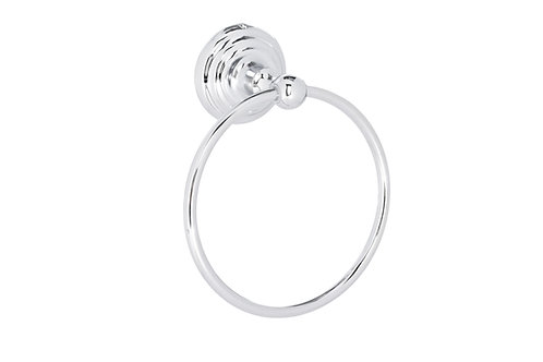 W Unlimited Chrome Plated Zinc Alloy Towel Ring