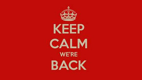 We're Finally Back by Ruth Bailey-Fogarty