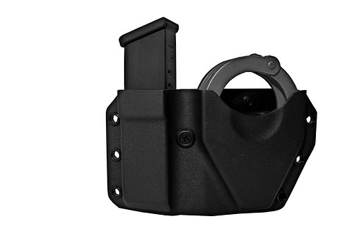 Paddle Alpha Double Handcuff Combo Pouch