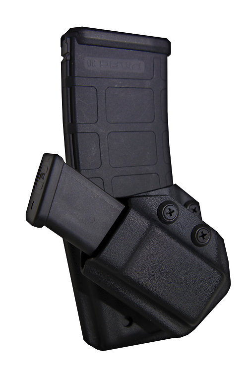 Double Stack Single Pistol & AR Magazine Pouch