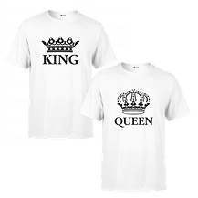 Tee-shirts-Couple-king-and-queen-T-shirt