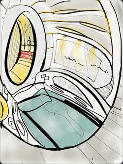 Sleeppod Interior Version 2