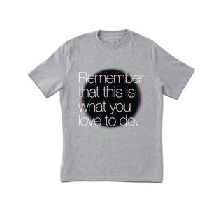 Gri Baskı T-Shirt Baskı