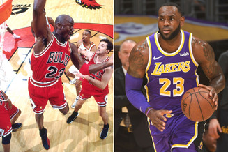 LeBron James passes M.J. for fourth all-time on the NBA scoring list