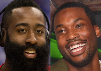 James Harden goes to see Meek Mill in Jail #FreeMeekMill