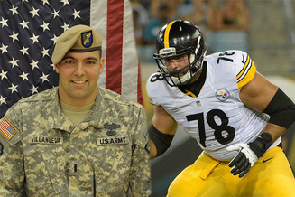 "Pittsburgh Steeler Player ""Alejandro Villanueva"" Who Stood For Anthem Apologizes.."