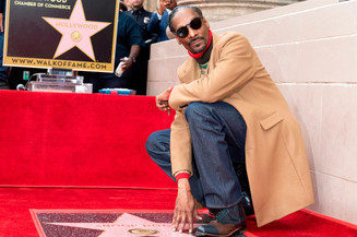 Snoop Dogg Honored With Hollywood Walk of Fame Star