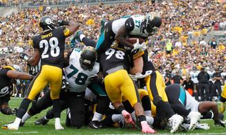 The Jacksonville Jaguars win BIG in Pittsburgh!